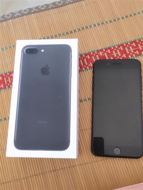 iphone7plus 128g 國行 盒子配件都是原裝,換過外屏,一口價2000,要換11pro...