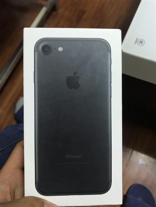 个人一手苹果7手机便宜卖了,换新手机了。发票,手续,全部齐全   有意向的联系我,也可以打我电话17...