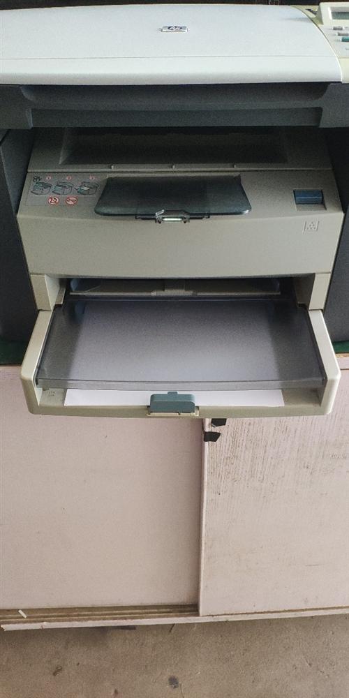 惠普最最经典的打印复印一体机。出了名的耐用,刚换的全新硒鼓,打印复印效果都很好。配好电源线打印线,县...