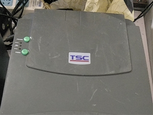 二手tsc-cn2404不干胶标签机290元,广告长期有效,正常使用中,无维修,县城县医院附近,自己...