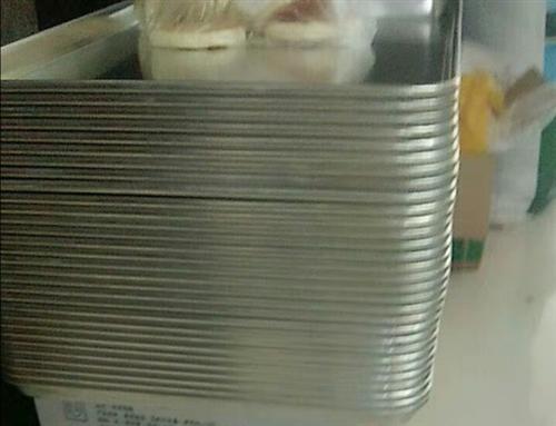 全铝烤盘九成新    20个     价格优惠价格面议