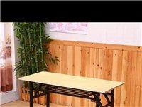 本人开小吃店,求购最好是简单方便的木头桌椅,两套,联系电话18079117959