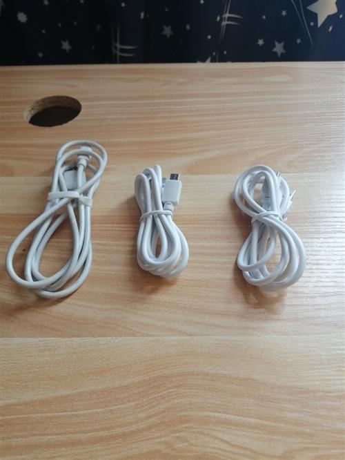 三条全新安卓数据线 长度1m 有意购买者添加微信18026864096