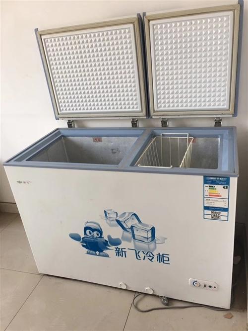 新飞冰柜一台九成新,买了没用了二个月。冷藏冷冻两用