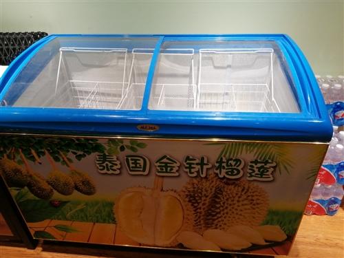 天冰冰柜600元,展示柜1000元,電子秤可打印條碼500元,貨架十組2800中島三組600元,所有...