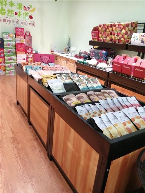 水果店不干了,所有貨架,展示柜,收銀機設備低價處理 聯系電話13363895168