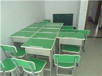 培训班一批桌椅转让,一共8套,有需要的请来电,不包送货。全部一起转让,不零卖。