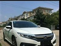 17年本田思域,1.5T國五排放,車況良好,賣價6w,有興趣的私聊。