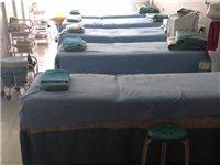 美容床6套小推車2個,圓桌兩套