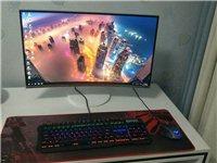全新臺式電腦,三星27寸曲面屏,i3-7350k處理器,8G內存120G硬盤,競技鍵盤,要的聯系15...