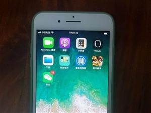 苹果7plus国行128g三网通。功能全好。要的海甸岛自提