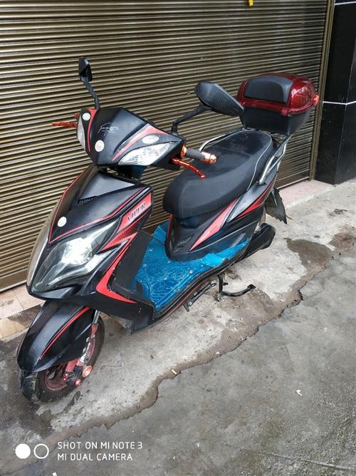 电动摩托车出售,车况好,此车买不到一年,