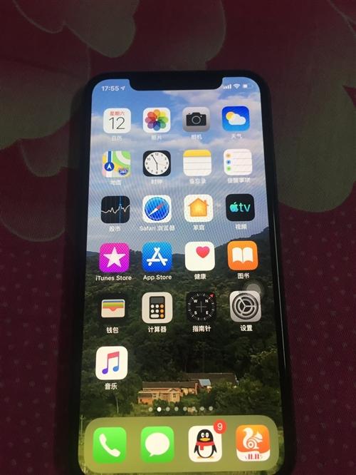 苹果x 256g国行 成色特别新 一点划痕磕碰没有,前后贴膜,发票盒子都在 需要的联系
