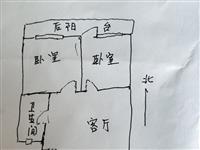 急售急售,唐中家属楼,地段如图,框架结构,住宅价格商业价值,有房本能贷款,109平三居室。赠地上库房...