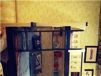 松堡王国儿童全实木上下铺床,商场清样全新,商家配送,带爬梯和边柜,带书架,全网最低超划算!
