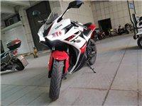 出售摩托车赛车一辆准新车2000公里双杠水冷400cc有限速没解到车记录一次没摔过可办分期有意者联系...