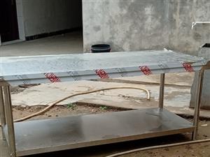 不锈钢桌子后厨操作台  长1.8*宽80*高80 刚买的买来只撕了保护膜 全新  全新未用过 ...