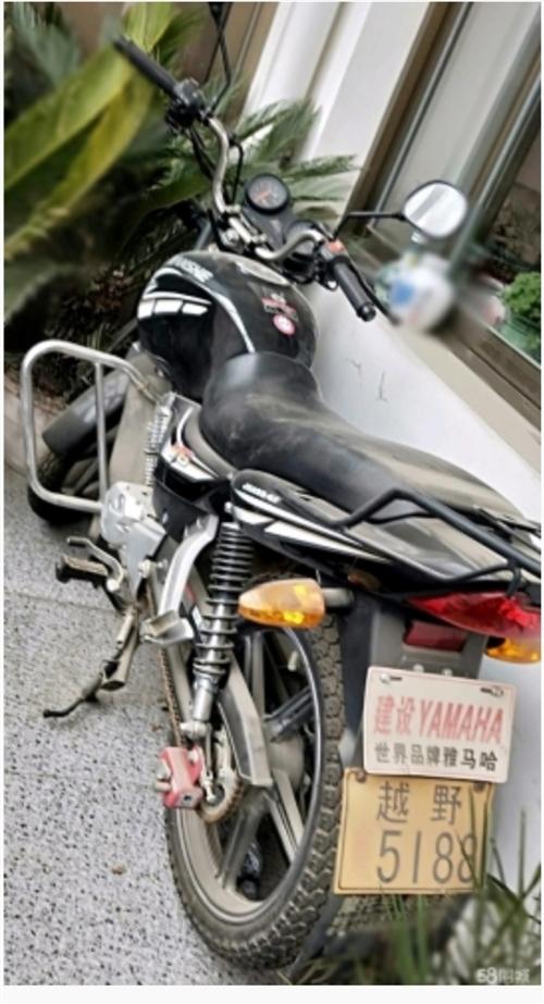 結婚時買的摩托車,經常在外上班,期間很少騎。現特價處理