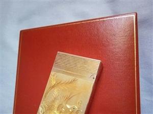 Dupont (打火机) 全身包金 黄金  双面雕刻 一面雕刻金龙(镶嵌红宝石) 一面雕刻金凤凰...