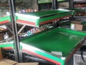 水果店全套  可单卖    货架冷柜电子秤全套9成新价格优惠    電話联系13643960023