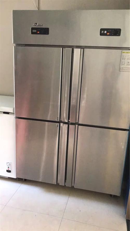 商用冰柜,一站柜一卧柜,如图所示,1000一个,不议价