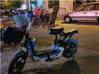 轉讓激戰 電動車成人電動自行車48V新款電瓶車男女代步踏板車電池可取出 天藍色 帶超威或天能48V1...
