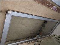 肯德基門,一套兩扇(97cm*220cm*2),防爆鋼化玻璃,把手、門鎖完好無損,附帶一對德國原裝閉...