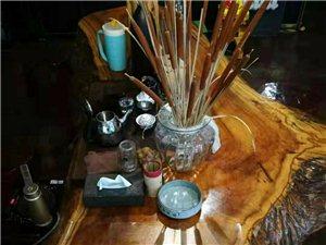 根雕茶台,长三米…黄蜡樟