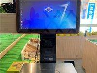 爱宝收银机(带系统),9.9成新,只使用三个月,大屏幕显示,触屏功能,更多的强大功能就多不说了,可见...