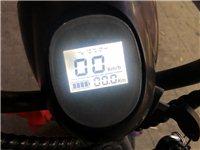 哈雷斯博銳電瓶車,18年年初買的,新車小三千,充滿電現在能跑40公里,冬天也就27左右