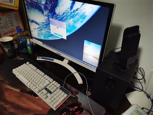 家用電腦一臺,無卡頓,無故障,年初買的。整套出售(主機,顯示器,音響,鼠標,鍵盤)。有意者電話聯系。