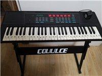 永美54键电子琴,买了钢琴,这个就闲置了,适合小孩子玩。 琴体所有功能都是好的,每个按键都响。按键...