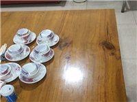 飯店用實木餐桌加實木餐凳出售