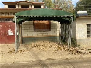 大型雨棚(�L6米 ��4.5米)雨布是新的,在�庀缶治鬟�,有需要者了�系,自取1000,可加a_791...