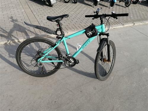 出售二手山地自行车,骑了不到两个月,99新,要换电动车急出售