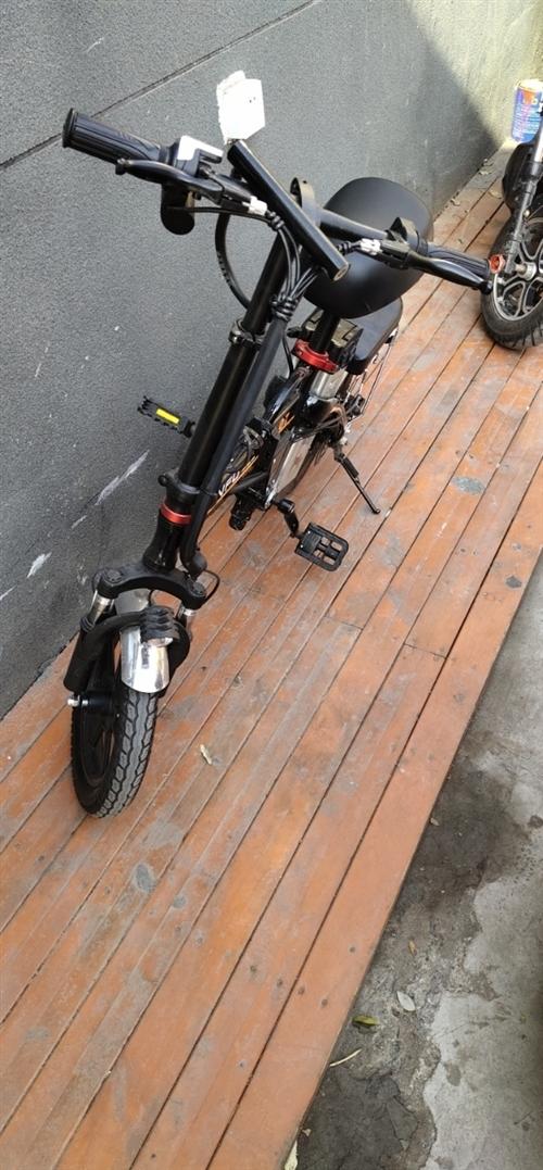 折叠电动车一辆骑了不到2个月  用不到了出售 原价2100