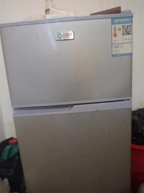 双门小冰箱122升,买了半年多,没怎么用,需要的联系!
