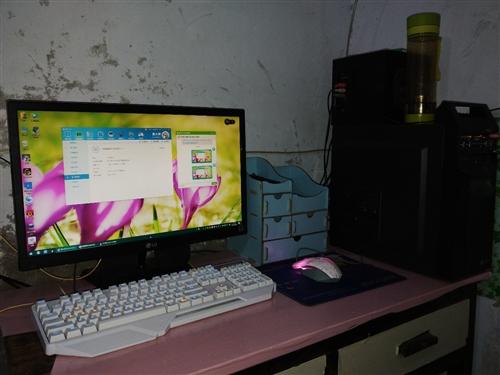 自用高配电脑整机 ,一切正常,鲁大师检测都很清楚了,基本所有游戏都可以玩。 配置: CPU  E...