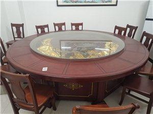 电动桌子,玻璃长大概1. 98米桌面2. 78米,能坐12个人或者更多,去年买的,用不超过15|次。