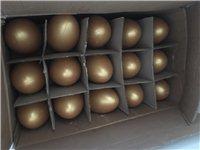 年底活動砸金蛋!現有一箱大號金蛋,規格20厘米,數量一箱45個。有意向的拿走!