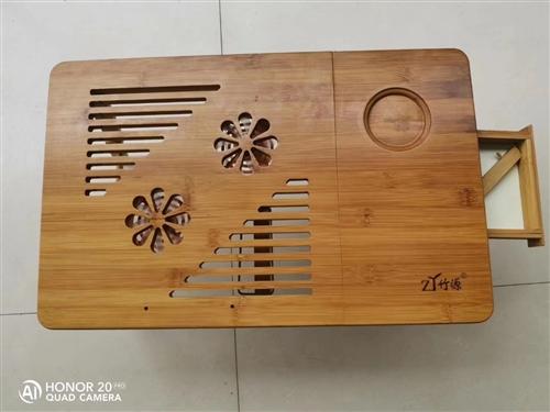 天冷了,真的需要它了 ,**折疊**筆記本電腦桌,楠竹,原價110元,虧本活動價100兩個,單個60...