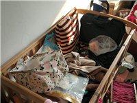 搬家嬰兒床低價處理。