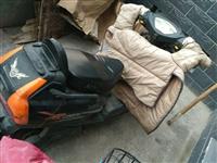 油電兩用摩托車,正常使用中。現用不到了,低價出售。