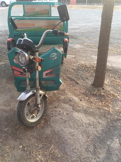 有一臺電動三輪車出售、5塊20電瓶