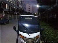 因換新車了小迷小客三輪電動車便宜出售,帶天窗通風好,電動車窗,60v45a大電瓶目前行駛里程約60公...