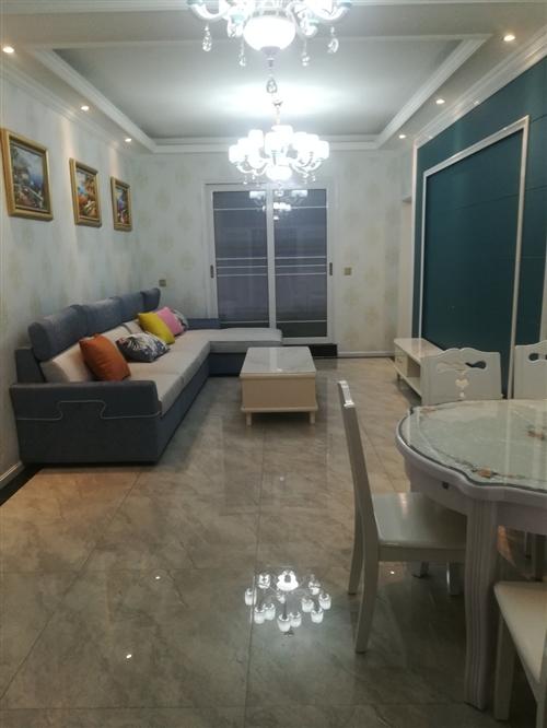 邛崃长松路液化气公司宿舍3楼,120平方精装家具家电齐,套四双卫,售78.8万