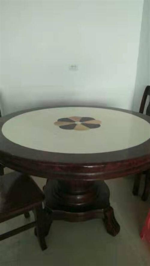 真皮沙发 大理石餐桌