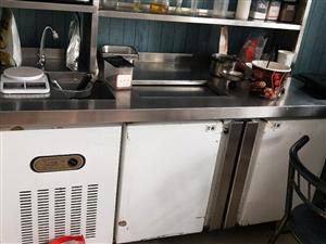奶茶店�O�涞�r出售(九成新):操作�_、制冰�C、全自�臃饪�C、烤肉�C、�F板��、章�~小丸子�C,小烤箱、冷...