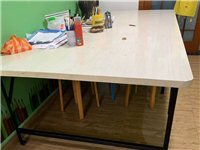 桌子轉讓 一千五做的   桌長2米5 寬一米二 高70公分