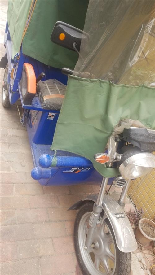 博技電動三輪車,99成新,開了不到40公里。